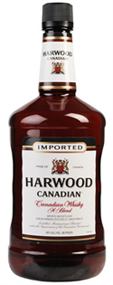 Harwood Canadian Whisky 1.00l - Case of 12